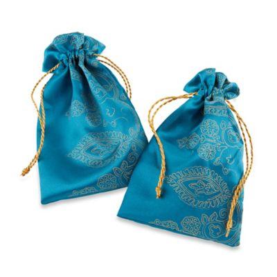 Kate Aspen® Sapphire Jewel Favor Bag (Set of 12)