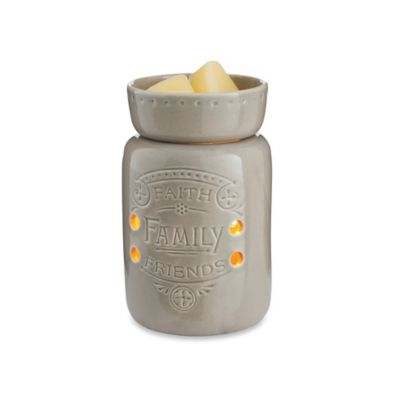 Faith Family Friends Midsize Candle Warmer