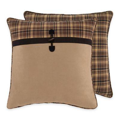 Croscill® Summit European Pillow Sham in Brown