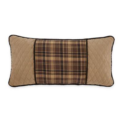 Croscill® Summit Boudoir Throw Pillow in Cream