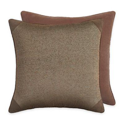 Croscill® Grand Lake European Pillow Sham in Brown