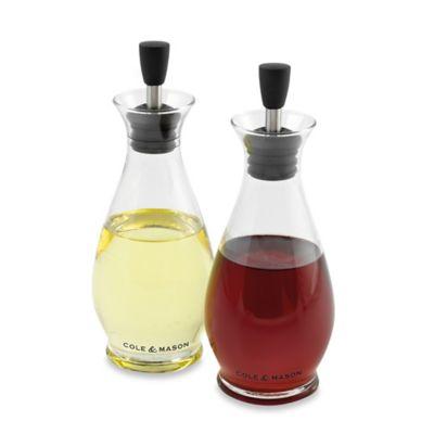 Cole & Mason Classic Oil and Vinegar Pourer Gift Set