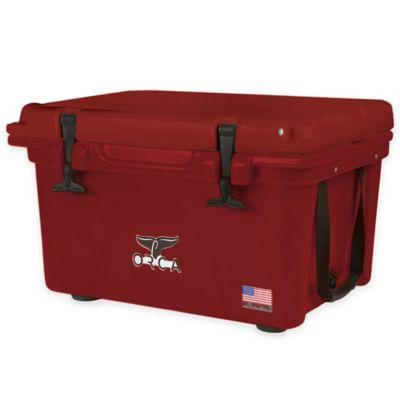 26 Qt. Cooler in Red