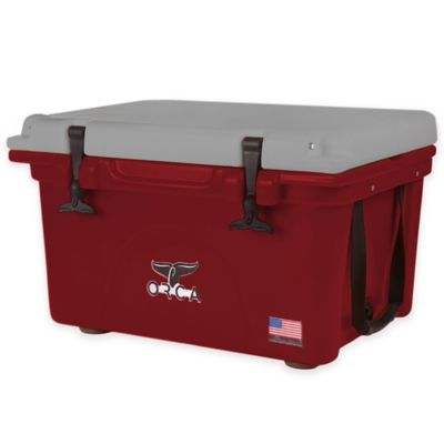 Orca 26 qt. Cooler in Crimson/Grey