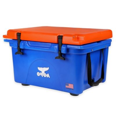 Orca 26 qt. Ice Retention Cooler in Blue/Orange