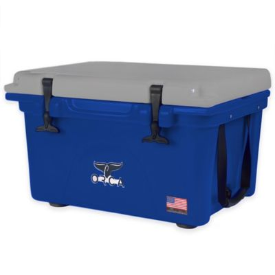 Orca 26 qt. Ice Retention Cooler in Blue/Grey