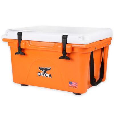 Orca 26 qt. Ice Retention Cooler in Orange
