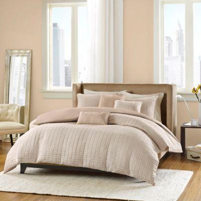 Madison Park Parker Full/Queen Comforter Set in Coral