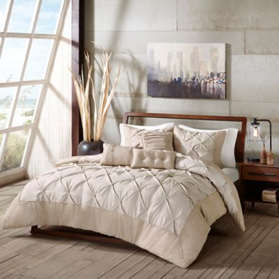 Madison Park Vera King Comforter Set in Coral