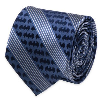 DC Comics™ Batman Pinstripe Tie in Navy