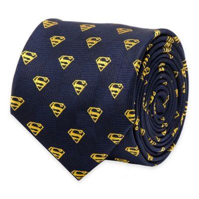 DC Comics™ Superman Logo Tie in Blue/Yellow