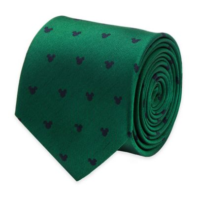 Green Navy Logo Tie