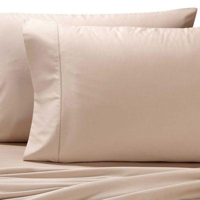 Valeron Cotton Tencel® King Sheet Set in Taupe