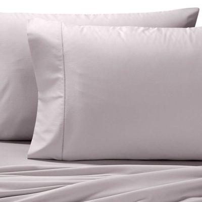 Valeron Cotton Tencel® King Pillowcases in Grey (Set of 2)