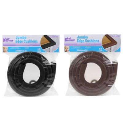 KidKusion® Jumbo Edge Cushion Strip in Black