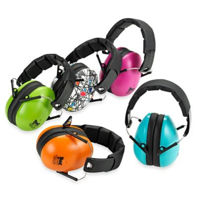 Baby BanZ EarBanZ Kids Hearing Protection Headphones in Orange