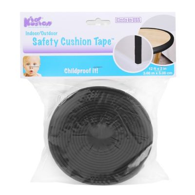 KidKusion® Safety Cushion Strip in Black
