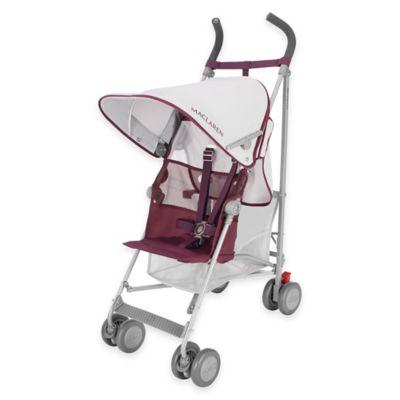 Maclaren® Volo Stroller in Silver/Plum