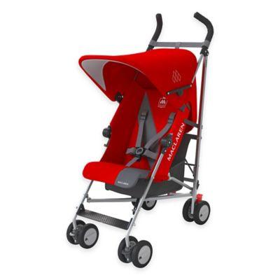 Maclaren® Triumph Stroller in Cardinal/Charcoal