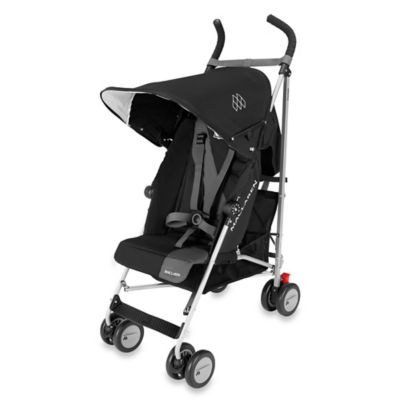 Triumph Stroller in Black/Charcoal