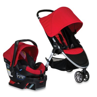 BRITAX 2016 B-Agile® 3/B-Safe® 35 Travel System in Red