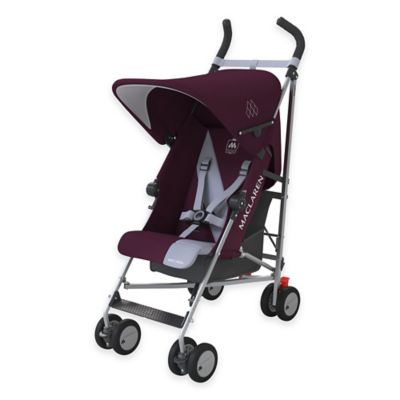 Maclaren® Triumph Stroller in Plum/Grey Dawn