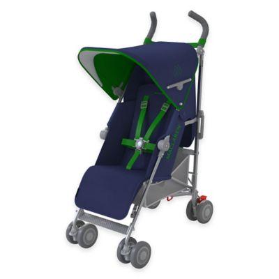 Maclaren® 2016 Quest Stroller in Medieval Blue/Jelly Bean Green