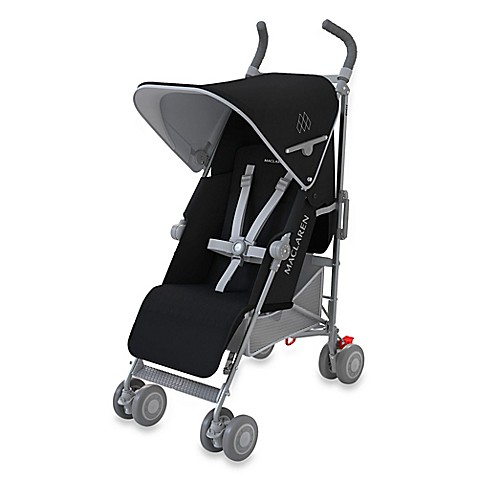 Maclaren 2016 quest stroller in black silver for Coche de paseo maclaren