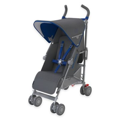 Maclaren® 2016 Quest Stroller in Charcoal/Harbor Blue