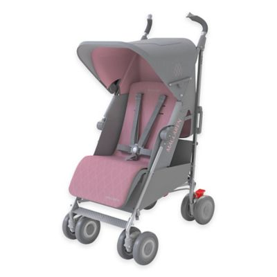 Maclaren® Techno XLR Stroller in Dove/Orchid Smoke