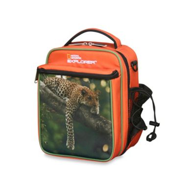 National Geographic® Lazy Leopard Insulated Lunch Bag