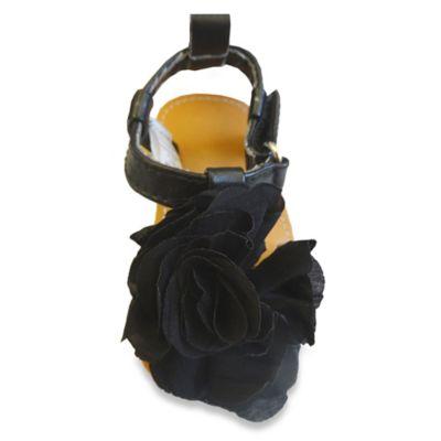 Rising Star™ Size 8 Flower Sandal in Black