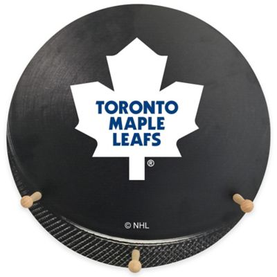 NHL Toronto Maple Leafs Team Logo Hockey Coat Rack