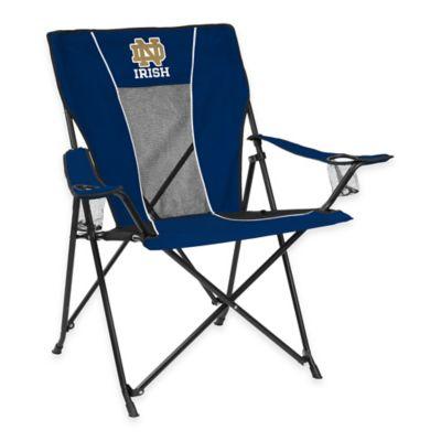 NCAA University of Notre Dame Folding GameTime Chair