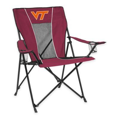 NCAA Virginia Tech Folding GameTime Chair