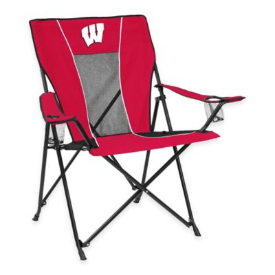 NCAA University of Wisconsin Folding GameTime Chair