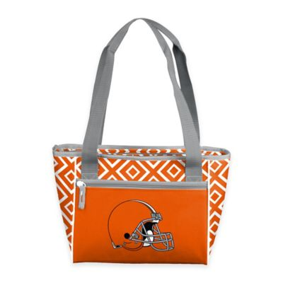 NFL Cleveland Browns Chevron 16-Can Cooler Tote