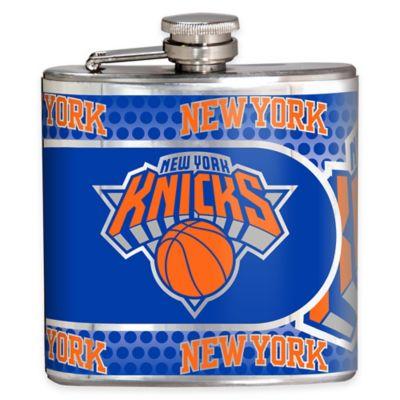 NBA New York Knicks Stainless Steel Metallic Hip Flask