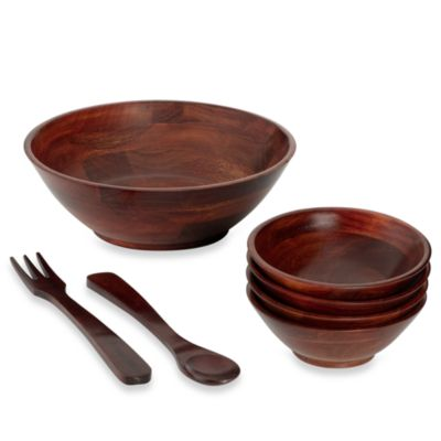 Cherry 7-Piece Salad Set