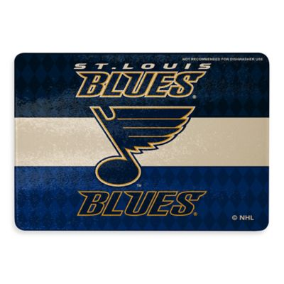 NHL St. Louis Blues Tempered Glass Cutting Board