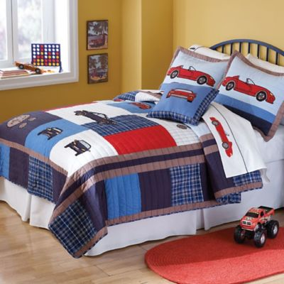 Cars Twin Quilt Set