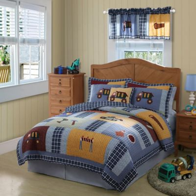 Construction Twin Quilt Set