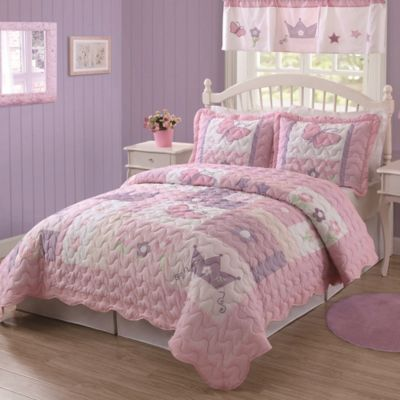 Princess Twin Quilt Set