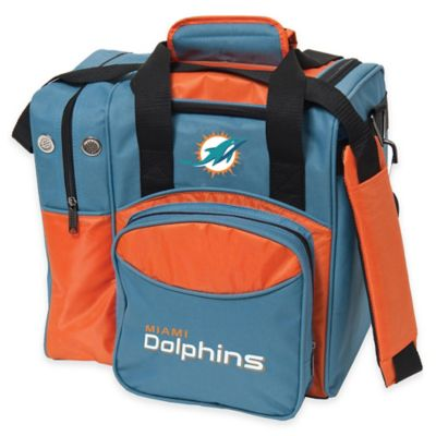 NFL Miami Dolphins Bowling Ball Tote Bag