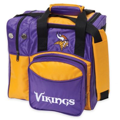 NFL Minnesota Vikings Bowling Ball Tote Bag