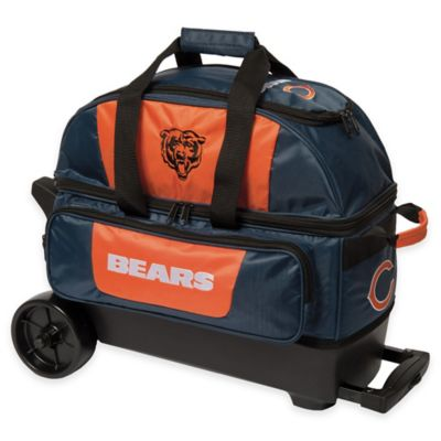 NFL Chicago Bears Double Roller Bowling Bag