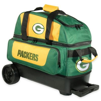 NFL Green Bay Packers Double Roller Bowling Bag