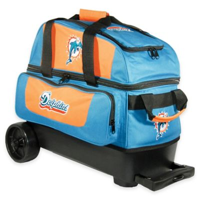 NFL Miami Dolphins Double Roller Bowling Bag