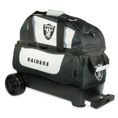NFL Oakland Raiders Double Roller Bowling Bag