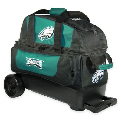 NFL Philadelphia Eagles Double Roller Bowling Bag